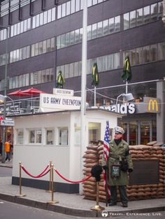 Checkpoint Charlie, Berlin, Germany.