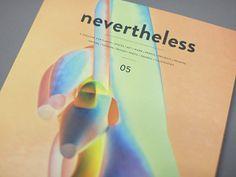NEVERTHELESS 05 by atelier olschinsky , via Behance