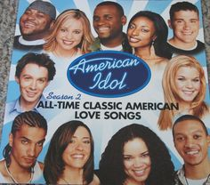 American Idol / Season Two / 2003 RCA Records Double-Sided Poster #AmericanIdol #ClayAiken #Promo #Poster