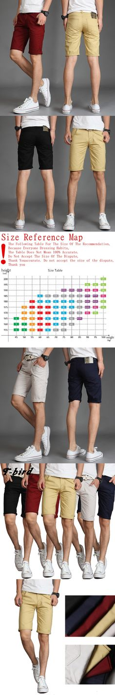 2017 Mens Shorts Casual Bermuda Brand Solid Color Wild Compression Male Cargo Shorts Men Linen Fashion Men Short Summer Linen 36