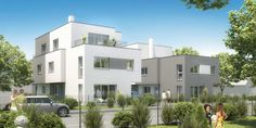 Rittingergasse - Wien 21 Modern Design, Mansions, House Styles, Home Decor, Decoration Home, Manor Houses, Room Decor, Contemporary Design, Villas