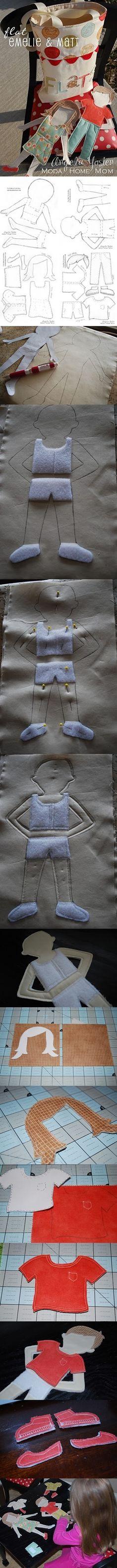 Paper Doll - Emelie & Matt