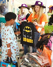 UC Davis Children's Hospital patients celebrate spirit of Halloween