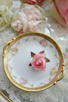 Lovely Antique Porcelain Nippon Dish