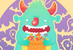 Create a Funny Trick-or-Treat Halloween Monster in Adobe Illustrator from Tuts +