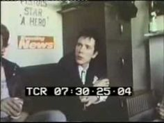 SEX PISTOLS CHANNEL RARE FOOTAGE LIVE + INTERVIEW - YouTube