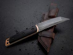 Custom Tanto Fixed Blade Knife 228
