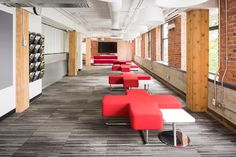 Fusion Projects Inc.  Fairleigh Dickenson University  - We love the pop of Red!