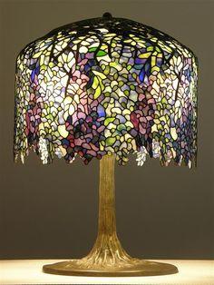 I love wisteria, especially in Tiffany lamps!