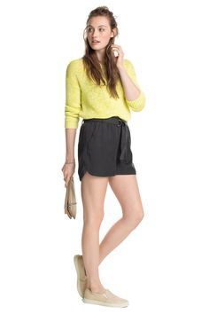 edc : Shorts con cinturón de anilla en la Online-Shop