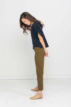 Color scheme and shoes