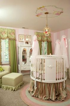 A Beautiful Baby Girl Room.......