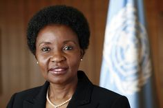 Former UN Deputy Secretary-General Asha-Rose Migiro was appointed as the UN's Special Envoy for HIV/AIDS in Africa on 13 July She is a former lawyer and politician from Tanzania. UN Photo/Mark Garten