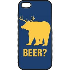 What do you get when you combine a deer and a bear? What's better than putting a rare beer on your iPhone case? You can even talk on the phone with your beer iPhone case, and drink beer at the same time. Funny Phone Cases, Iphone Cases, Talking On The Phone, Drink Beer, Funny Shirts, Deer, Canning, Drinks, Drinking