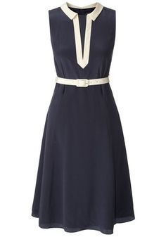 Orla Kiely-just bought a vintage pattern I could alter to get this awesome neckline