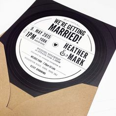 25 Unique Wedding Invitations (you wish you had thought of)