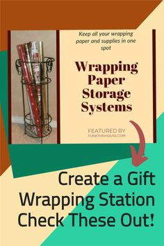 Stop digging, shuffling, and spreading your wrapping paper all over the place. You have to check out these storage solutions available to keep you organized all year long for all your gift wrapping needs. Makes a terrific gift idea as well! #giftwrappingstorage #wrappingpaperstorage #funkthishouse Purple Party, Blue Party, Wrapping Paper Storage, Gift Wrapping, Polka Dot Party, Sports Party, Party Stuff, Beach Party, Tailgating