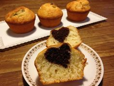 muffin con il cuore