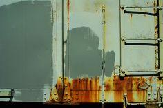 major weak spot for rust + patina.