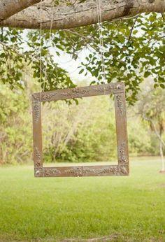 Hang a frame for photos