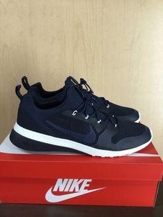 778f56b4e76122 Men s SZ 11.5 Nike CK Racer Athletic Training Shoes Obsidian Black  916780-402