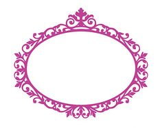 Victorian vintage frame silhouettes SVG Vector by EasyCutPrintPD