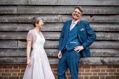 English Country Weddings, Wedding Ties, Liberty Print, Tie The Knots, Hana, Bananas, Floral Wedding, Real Weddings, Suit Jacket