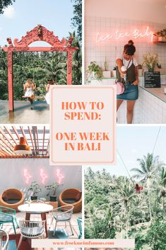One Week In Bali: Th