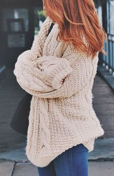 the best cozy sweaters are from Urban Outfitters <3