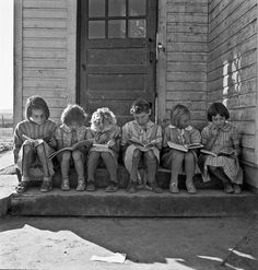 Photo by Dorothea Lange. I have to wonder.....what became of these children.
