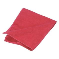 Carlisle Sanitary Maintenance Products Terry Microfiber Cleaning Cloth (Set of 12) Color: