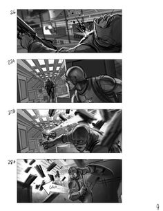 Storyboarding Process  Schematic With Camera Placement And