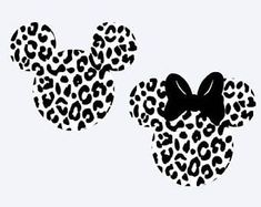 SVG disney mickey and minnie cheetah animal mouse ears Disney Diy, Disney Crafts, Disney Mickey, Disney Tattoos, Silhouettes Disney, Disney Silhouette Art, Minnie Mouse Silhouette, Disney Car Accessories, Machine Silhouette Portrait