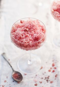 Watermelon, Salt, and Chili Granita.  Inspired! (of course, I personally would add tequila to this mix!)