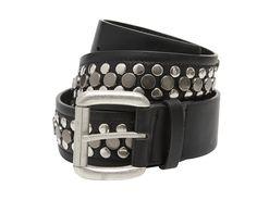 La ceinture IBARA biker cloutée noire pour un look punk rock. Large, porter  taille pour passants (hauteur 4 cm). Rivets décoratifs. Boucle métal avec  ... 1f8c9788714