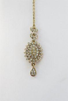 Indian Gold Antique Tikka/ Antique Tikka/ Indian by Beauteshoppe