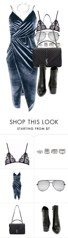 """Untitled #20926"" by florencia95 ❤ liked on Polyvore featuring Forever 21, Boohoo, Yves Saint Laurent and Very Volatile"