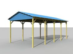 Rv shelter rv garage kit arbor wood products minimal for Rv shelter canada