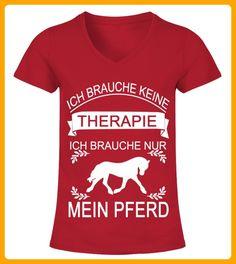 ICH BRAUCHE NUR MEIN PFERD - Shirts für frau (*Partner-Link)