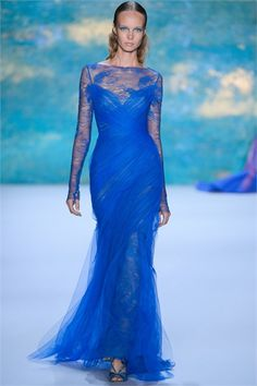 Monique Lhuillier - Spring Summer 2013 Ready-To-Wear - Shows - Vogue.it