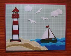 Cricut Father's Day Card. Life's a Beach Cartridge.  *