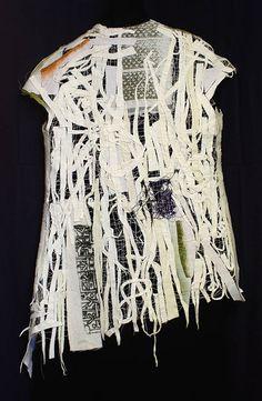 Solvy & wool Cuttings Vest | Holly Badgley Design