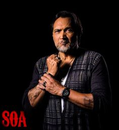 """Neron """"Nero"""" Padilla - Mentor for Jax, & Co-Owner of Escort Agency called """"Diosa International"""". Also in a relationship with Gemma Teller Morrow (Jimmy Smits). http://sonsofanarchyonline.com/sons-of-anarchy-cast-members-and-their-characters/"""