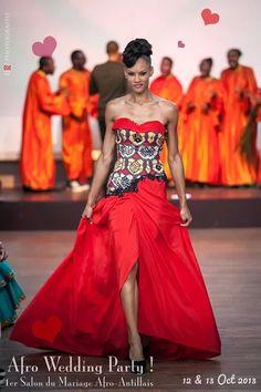 Afro Wedding Party à Paris - Défilé Kamisha | Pagnifik