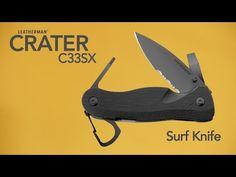 Leatherman C335X surf knife Couteau