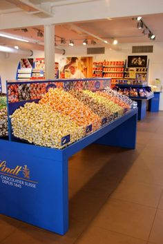 Lindt Chocolate Factory Outlet, Zurich