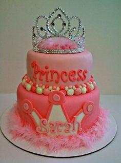 Little Girl Birthday Cake Idea – aaawww it has my name on it lol