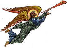 Byzantine Icons, Byzantine Art, Religious Icons, Religious Art, Gabriel, Angel Hierarchy, Ignatius Of Antioch, Angel Artwork, Angel Warrior