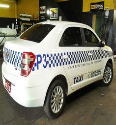Prefeitura de Cianorte promove a padronização de táxis