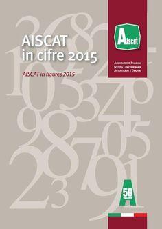 """#progetto #grafico e #immagine per la #brochure """"Aiscat in cifre"""" #graphics #design www.villaniandco.it"""